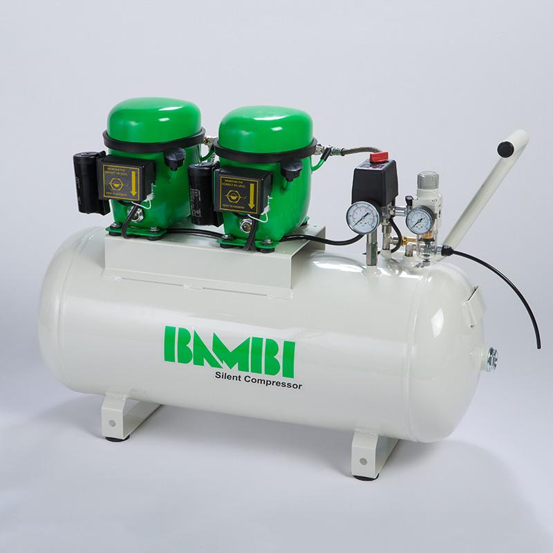 how to build a silent air compressor