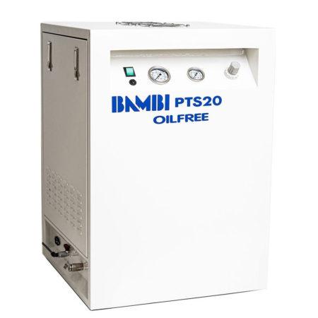 Bambi PTS20 Oil Free Silent Compresso